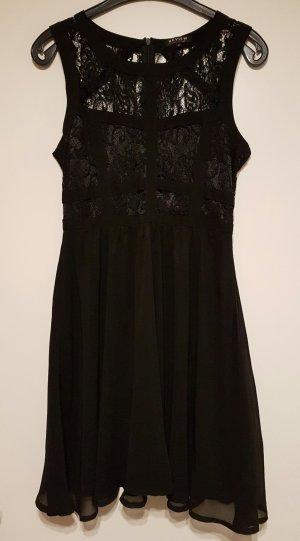 Superschönes Chiffon Kleid mit Spitze von Review Gr. M - perfekter Partylook