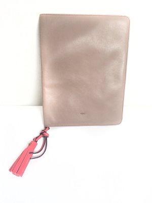 Superschönes iPad Cover von Chloé aus butterweichem Leder in beige/lachs