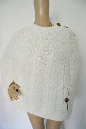 superschönes poncho pullover gr.M