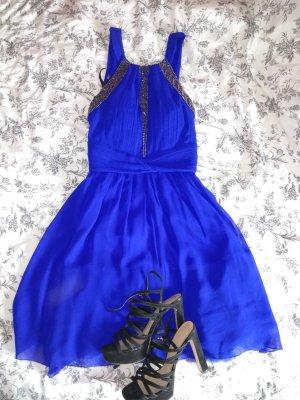 superschönes royalblaues Kleid von littlemistress