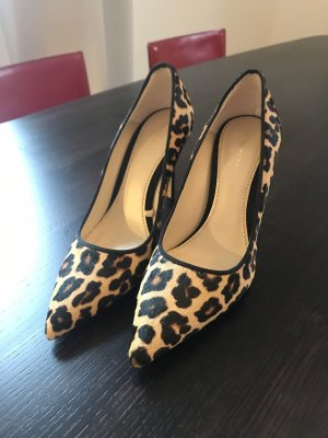 Supersexy High Heels, Gr. 37, Leopardenlook Fell
