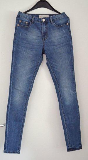 Superskinny Jeans von GLAMOROUS von asos, EUR 36 wie W26-27, toller Wash, NEU