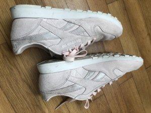 Reebok Sneaker stringata bianco-rosa pallido Pelle