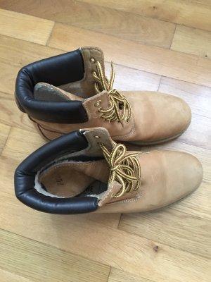 Snow Boots sand brown-dark brown