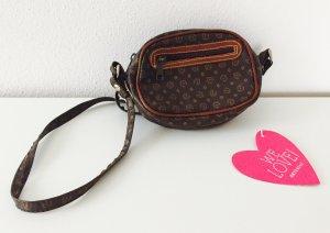 Supersüße Handtasche aus Leder *Vintage* mit Logo