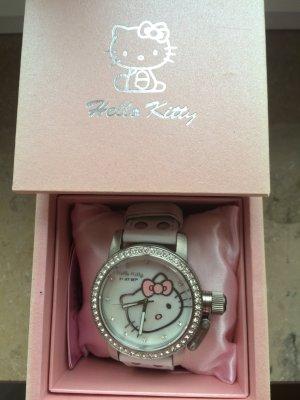 Supersüße Hello Kitty Uhr mit viel Glitzer