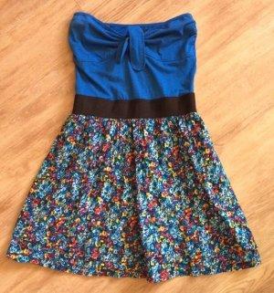 Mini Dress blue-light blue