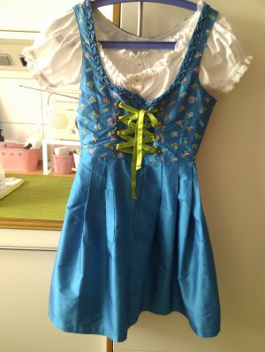 Original Steindl Dirndl multicolored silk