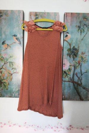 supersweetes MiniKleid/Longtop asymmetrisch unten geschnitten