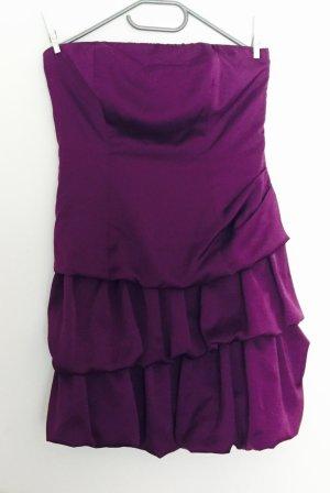Fashionart Abito da ballo rosso mora-viola scuro