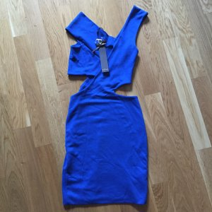 Supertrash Cut out Kleid NEU royalblau sexy 34 XS