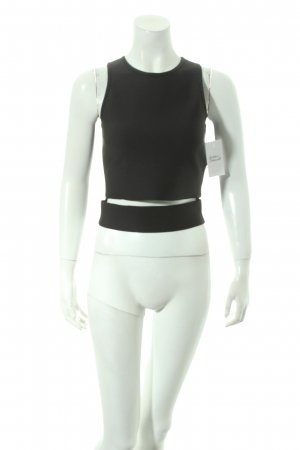 Supertrash Cut-Out-Top schwarz