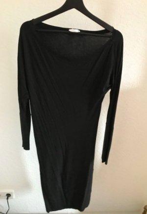Supertrash Vestido de un hombro negro