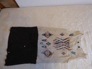 Supertrash Kleid, aufwendig mit Pailletten bestickt, Gr. 36