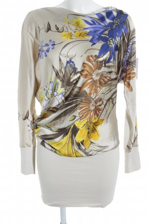Supertrash Langarmkleid florales Muster Casual-Look