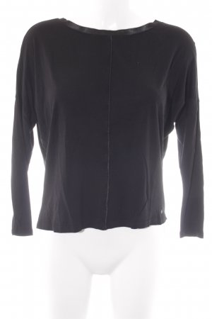 Supertrash Longsleeve schwarz Casual-Look