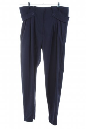 Supertrash Stoffhose blau Business-Look