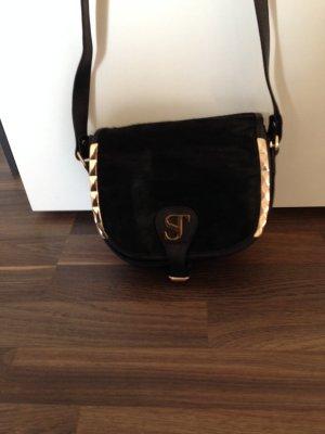 Supertrash Tasche Schultergurt schwarz