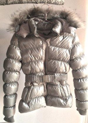 superwarme Winterjacke in greige