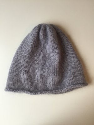 Beanie multicolored angora wool