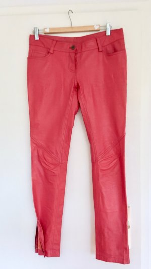 Conleys Leather Trousers multicolored