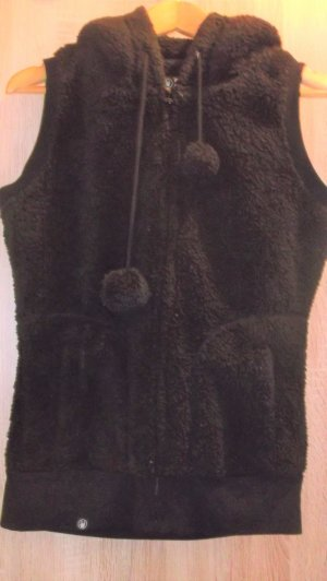 Hooded Vest black