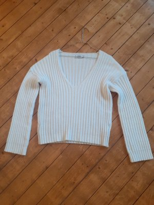 Nakd Coarse Knitted Sweater white