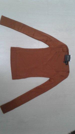 Superweicher Pullover cognacfarben