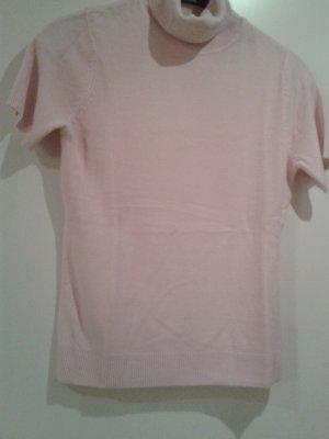 superweicher Pullover in rosa mit Rollkragen - NEU