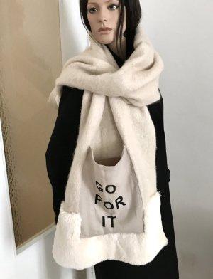 ◉ Superweicher XL Schal mit aufgenähter Tasche ◉