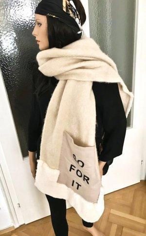 ◉ Superweicher XXL Schal mit aufgenähter Tasche ◉