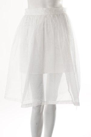 Supetrtrash Taftrock Weiß Glänzend