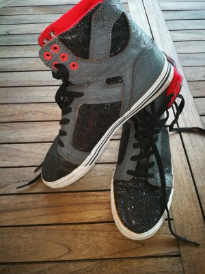 Supra Muska Sneaker schwarzglitzer