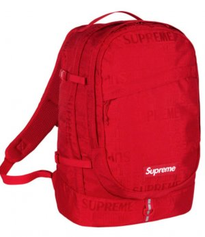 Supreme being Mochila escolar rojo