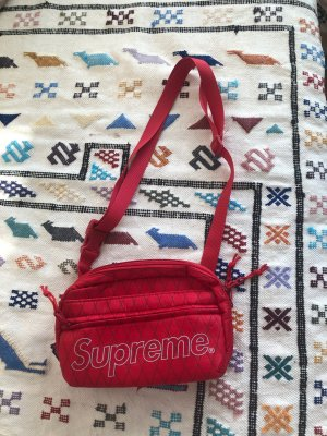 Supreme FW/18 Shoulder Bag Red Box Rot Schultertasche NEU