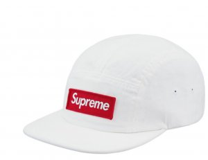 Supreme Military Camp Cap Kappe BOGO Boxlogo white weiß one size NEU