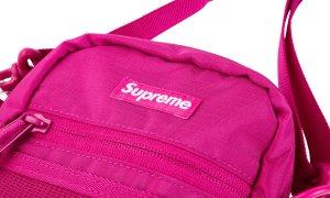 Supreme small shoulder Bag Tasche Umhängetasche SS17 magenta pink