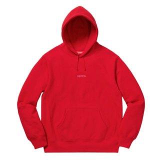 Supreme Trademark hooded Sweatshirt rot Boxlogo red Shirt Gr. M