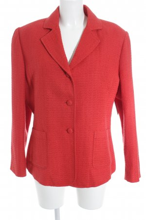 Sure Long-Blazer rot meliert Casual-Look