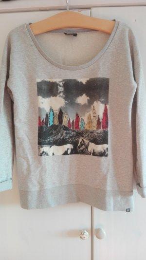 Surf Sweater, grau/melange, L, Hurley - Am 30. April schließe ich meinen Kleiderschrank!!!