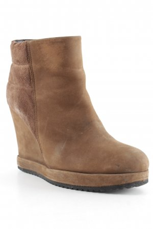 Surface to air Keil-Stiefeletten hellbraun Casual-Look