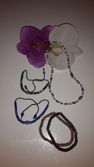 Surfer Style: Armbänder + Halskette
