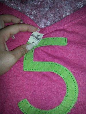 Surfertshirt, pink grün, Hollister liebe ♡