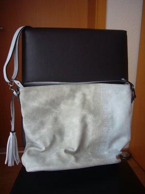 Suri Frey Pouch Bag light grey-azure