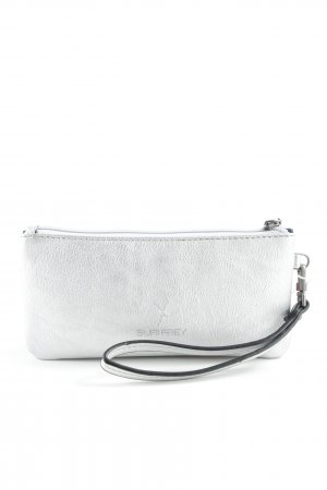 Suri Frey Clutch silberfarben Metallic-Optik