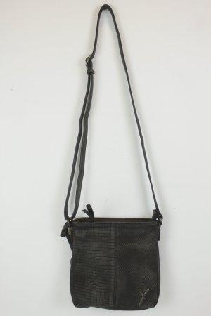 Crossbody bag taupe polyurethane