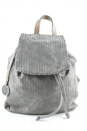 Suri School Backpack grey casual look