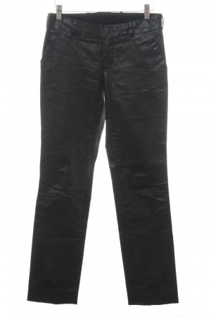 Susanne Bommer Low-Rise Trousers black biker look