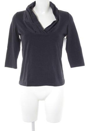 susskind V-Ausschnitt-Shirt dunkelblau Casual-Look