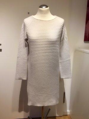Susymix: Long Pullover Strickminikleid in Wollweiß Gr. M